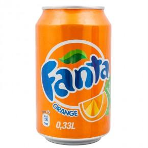Fanta - doza 0.33l